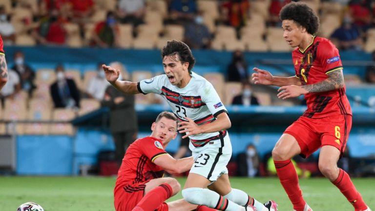 Joao Félix durante la Eurocopa