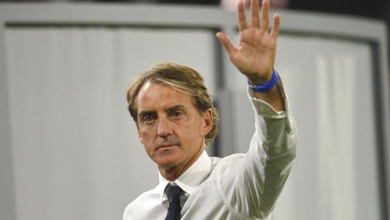 Roberto Mancini entrenador de la Selección de Italia
