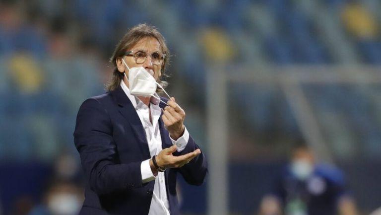 Ricardo Gareca entrenador de la Selección de Perú