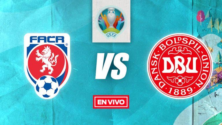 EN VIVO Y EN DIRECTO: República Checa vs Dinamarca