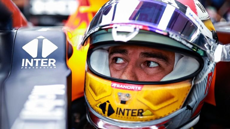 Sergio 'Checo' Pérez durante el entrenamiento del GP de Austria