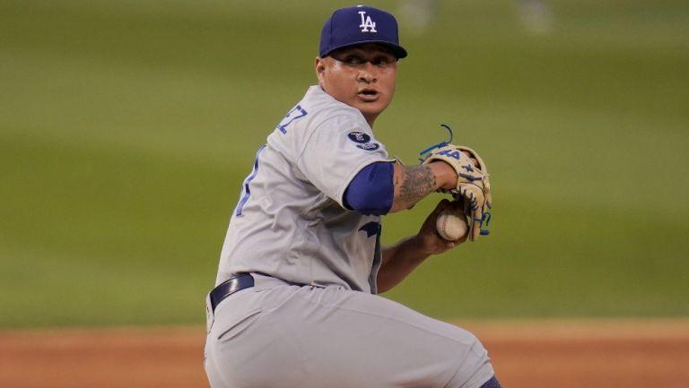 Víctor González: Primera apertura del año con los Dodgers que vencieron a Nationals