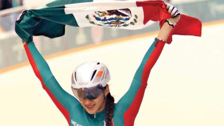 Yareli Salazar en competencia