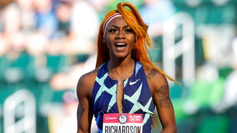Sha'Carri Richardson en competición