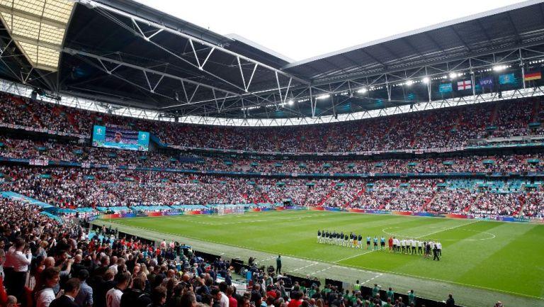Estadio Wembley en los Octavos de Final de la Eurocopa