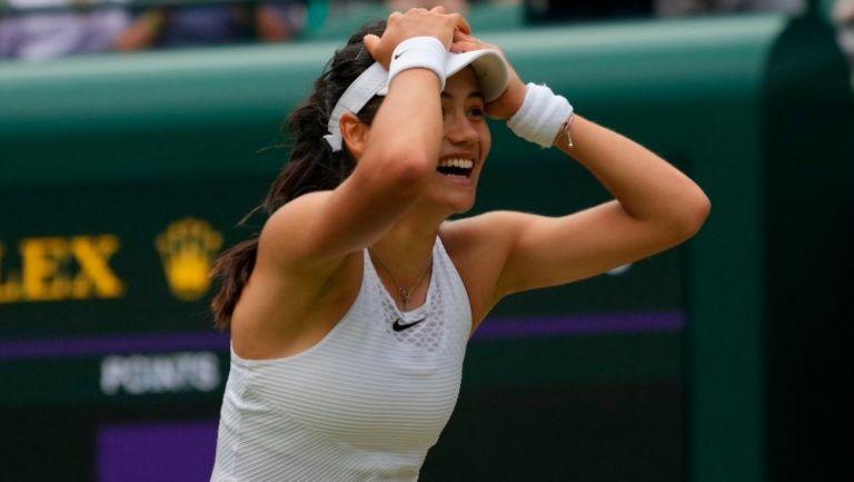 Emma Raducanu en Wimbledon