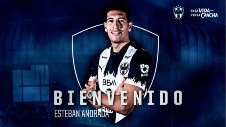 Rayados le dio la bienvenida a Andrada