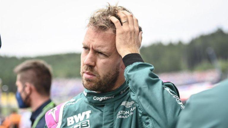 Sebastian Vettel, volante de Aston Martin