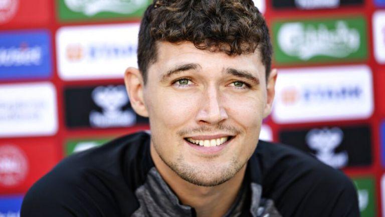 Andreas Christensen jugador de la Selección de Dinamarca