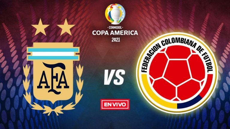 EN VIVO Y EN DIRECTO: Argentina vs Colombia