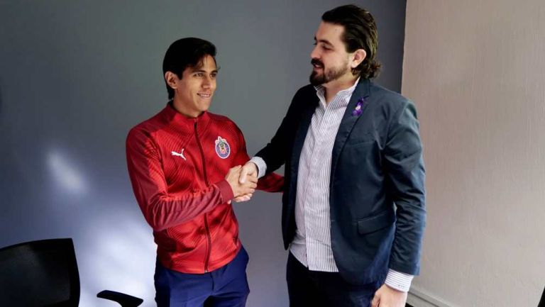 Amaury Vergara con JJ Macías