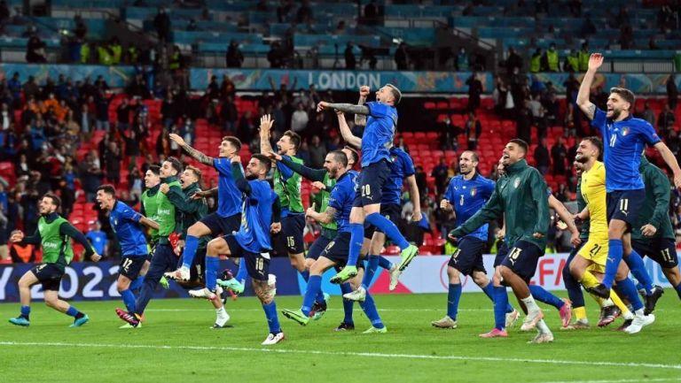 Jugadores de la Selección de Italia