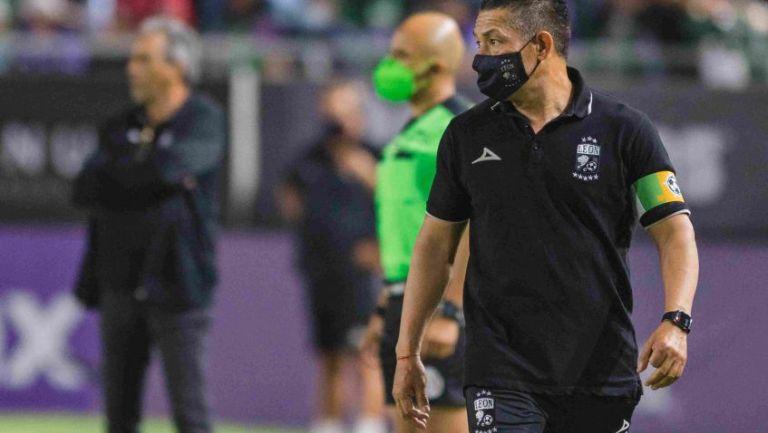 Ignacio Ambriz entrenador del Club León
