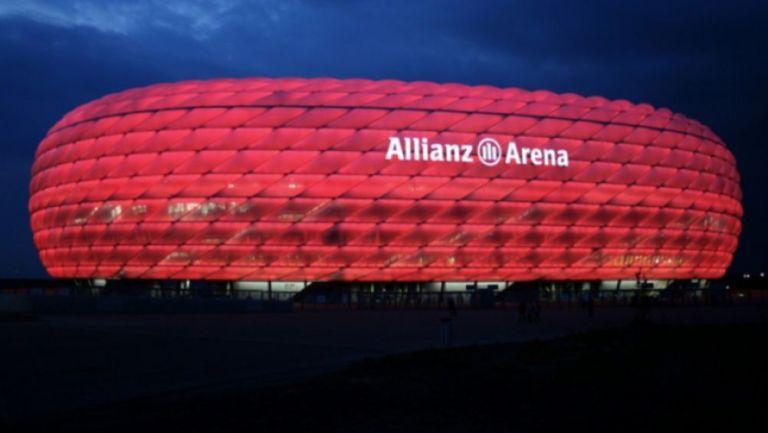 El Allianz Arena en un juego del Bayern