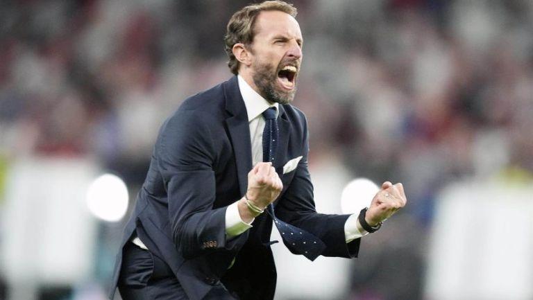 Gareth Southgate entrenador de la Selección de Inglaterra