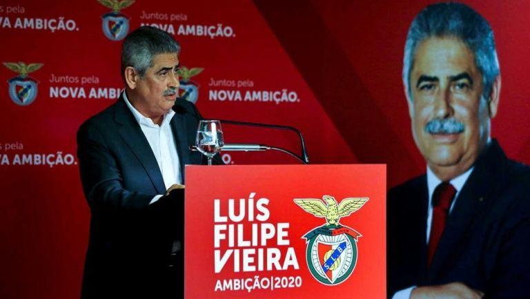Presidente del Benfica Luis Filipe Vieira