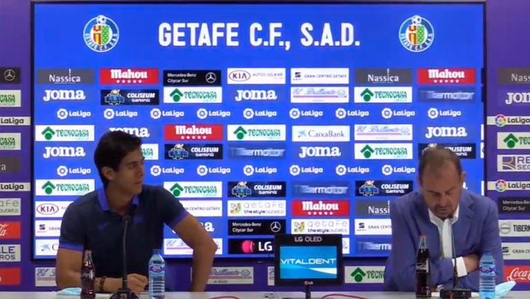 Presidente de Getafe a JJ Macías: 'Si metes goles como Hugo no me enfado'