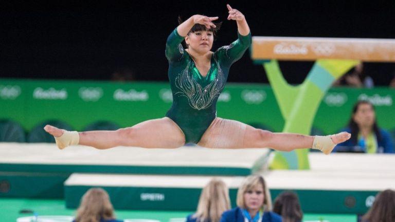 Alexa Moreno en acción