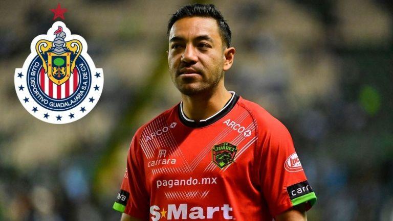 Marco Fabián quiere volver a las Chivas