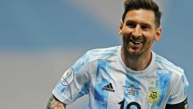 Lionel Messi durante la Copa América