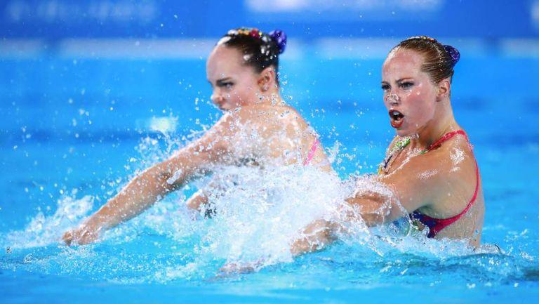 Nado sincronizado en Juegos Olímpicos