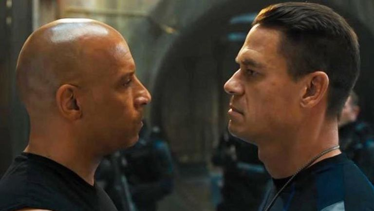 John Cena y Vin Diesel en Rápido y Furioso 9