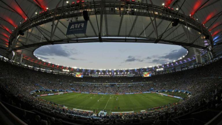 Vista del interior del estadio Maracaná