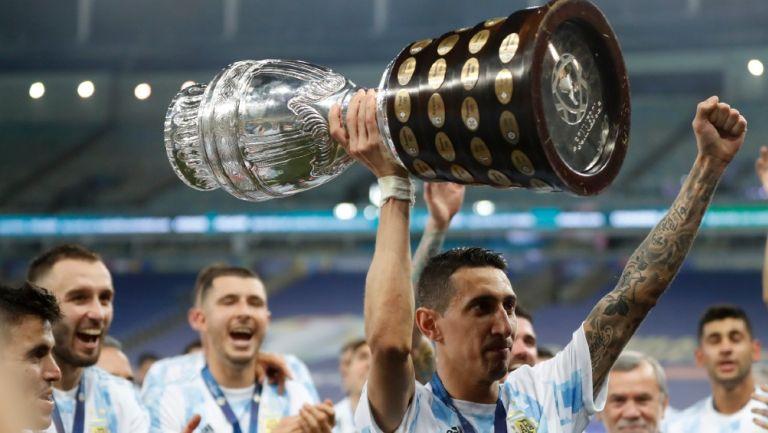 Di María levanta la Copa América