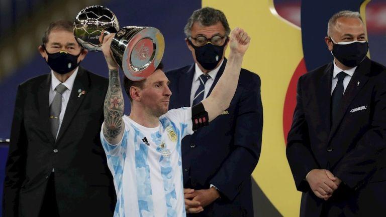Lionel Messi, MVP de la Copa América 2021