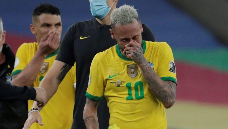 Neymar tras la derrota contra Argentina