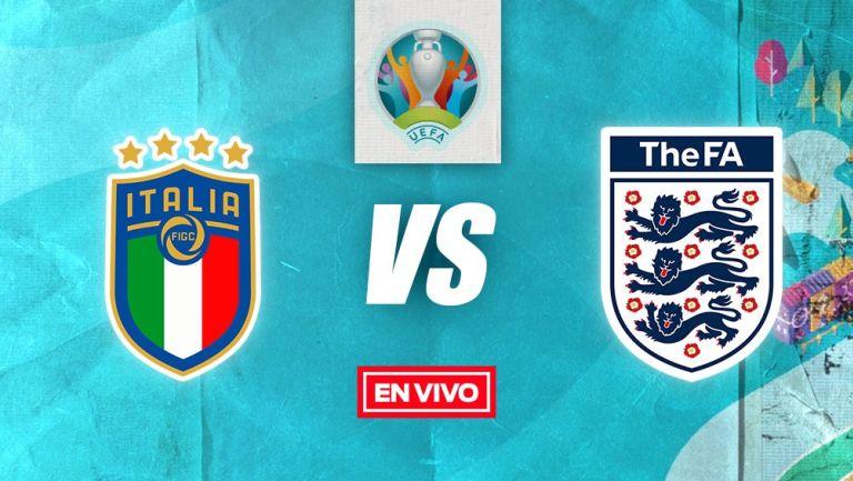EN VIVO Y EN DIRECTO: Italia vs Inglaterra