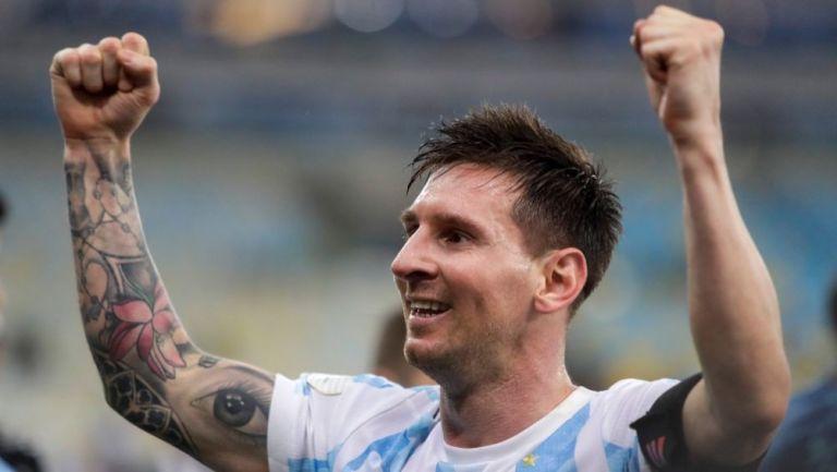 Messi tras la victoria de Argentina sobre Brasil