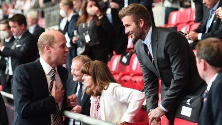 Príncipe Guillermo y Beckham