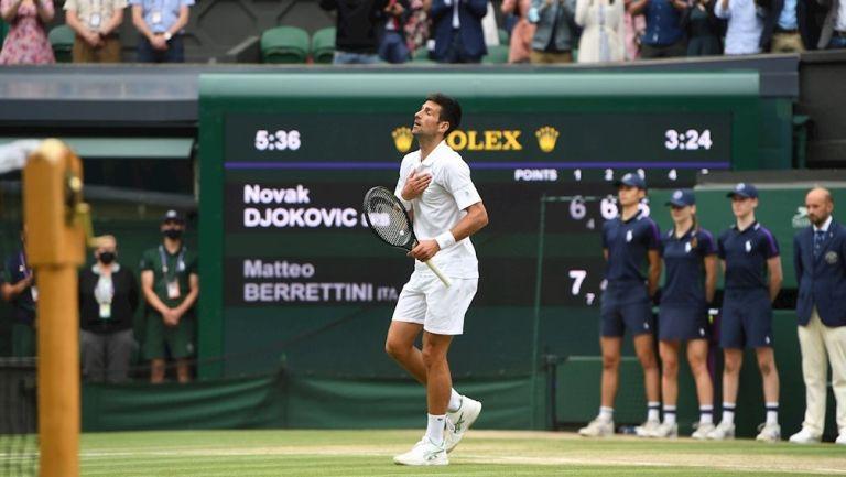 Novak Djokovic ganó su vigésimo Grand Slam