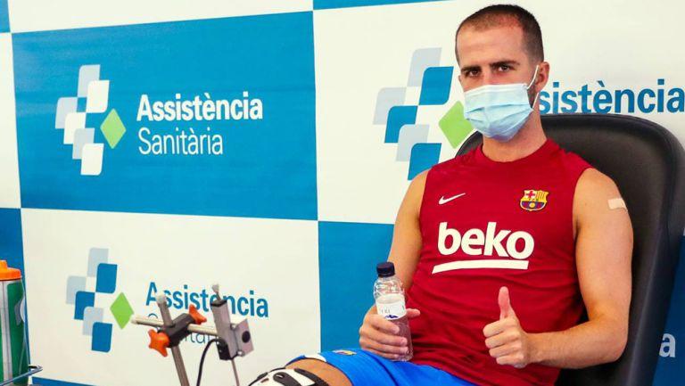 Barcelona: Jugadores realizaron pruebas médicas previo a inicio de pretemporada