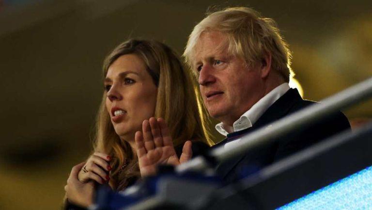 Boris Johnson en Final de Eurocopa