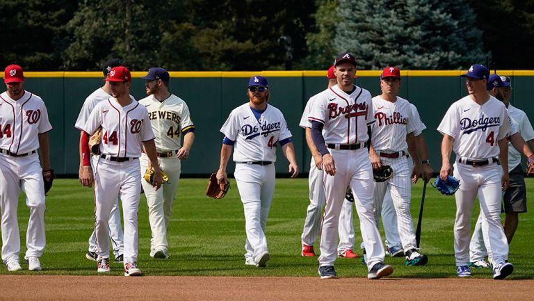 Estrellas de la MLB previo al All Star Game