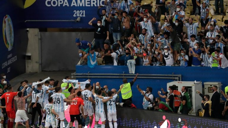 Copa América terminó con 179 casos confirmados de Covid-19