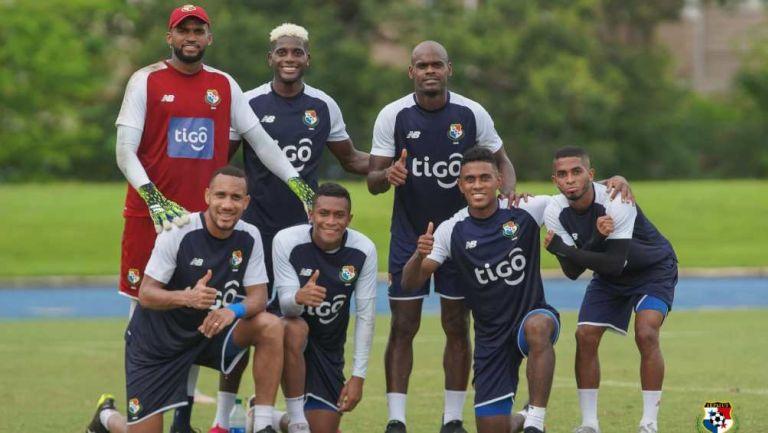Panamá en entrenamiento