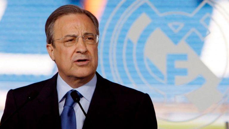 Florentino Pérez sobre audios filtrados: 'Es por la Superliga'