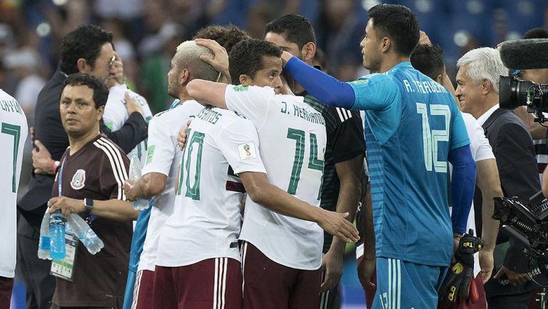 Giovani dos Santos y otros jugadores del Tri en Rusia 2018