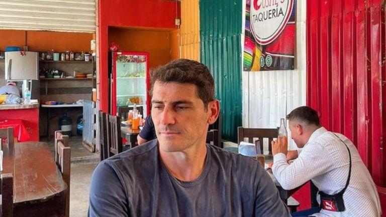 Iker Casillas en sus vacaciones en México