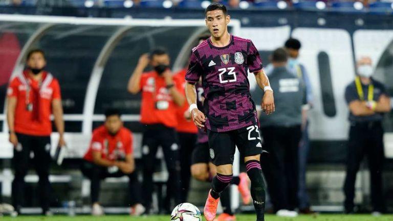 Uriel Antuna con la Selección Mexicana