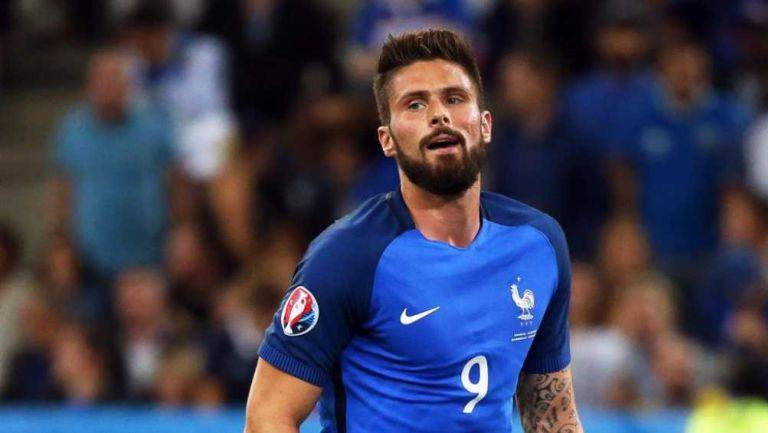 Olivier Giroud en partido