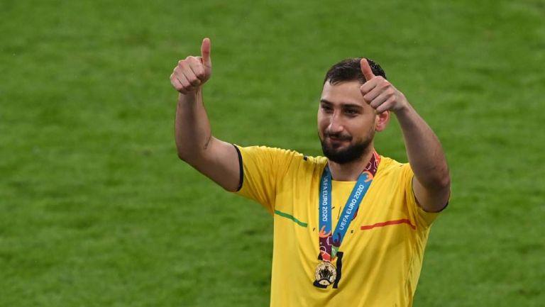 Donnaruma es nuevo portero del PSG hasta el 2026