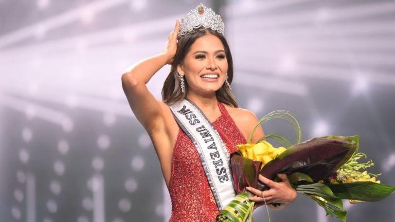 Andrea Meza ganó Miss Universo 2021