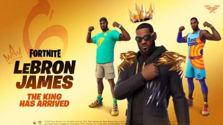 Las Skins de LeBron James en Fortnite