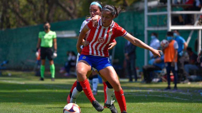 Jaqueline Rodríguez en partido