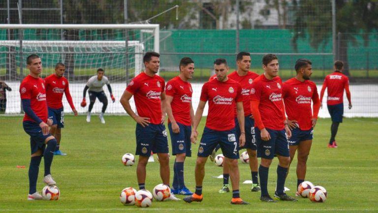 Chivas durante la pretemporada 2021/22