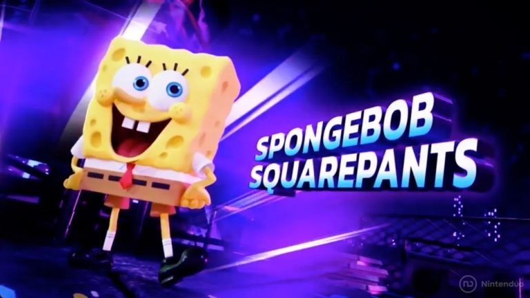 Bob Esponja en Nickelodeon All-Stars Brawl